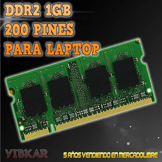 Memoria Ddr2 1gb 800 Mhz Pc2-6400 Para Laptop Nueva!