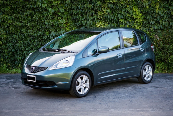 Honda Fit Lx Mt 1.5 2010 Verde 5p