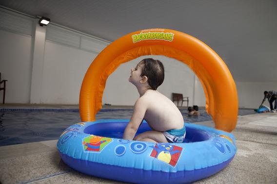 Piscina Infantil Com Função Spray Backyardigans - Nautika