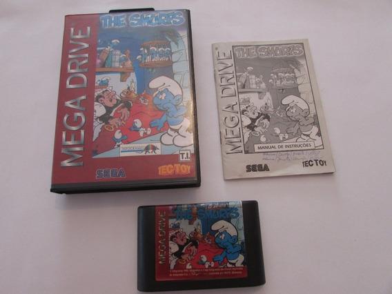 The Smurfs Original Tectoy Para Mega Drive