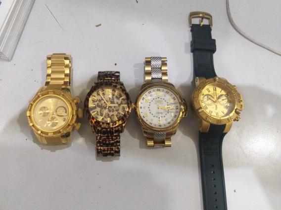 Relógios Invicta E Guess