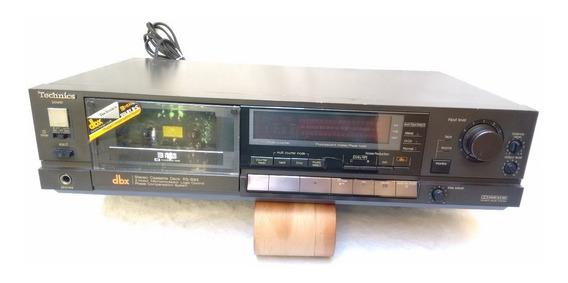 Tape Deck Technics Rs-b85 Leia Anuncio Até O Fim