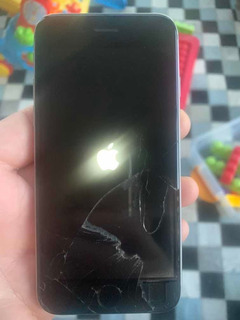 iPhone 6s 32gb Cinza Espacial Com Tela Quebrada