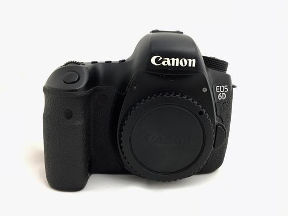 Camera Canon 6d Corpo (299 Mil Clicks) Obturador Novo