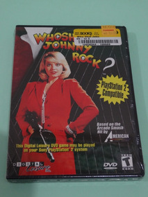 Who Shot Johnny Rock Dvd Para Ps2 Playstation 2
