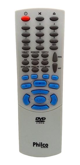 Controle Remoto Dvd Philco Dvt100 Dvt101 Original