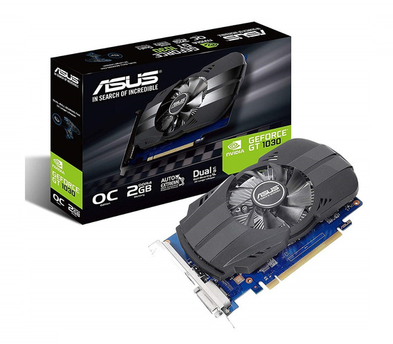 Placa Video Asus Gt 1030 2gb Ddr5 Phoenix Oc Geforce