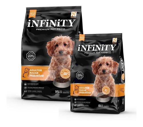 Alimento Perros Razas Pequeñas Infinity Premium 15 K + 8 K