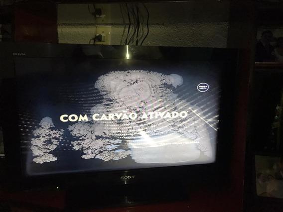 Tv Sony 32 Led Com Full Hd Digital Fucionando Mancha Na Tela