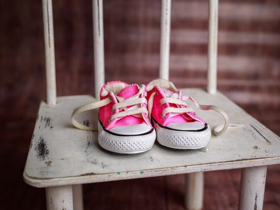 Zapatillas De Lona Niña Talle 20