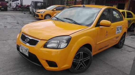 Taxi Kia Sephia 2012 Excelentes Condiciones