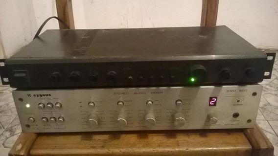 Pre Amplificadpr Unic 400 E Amplificador Cygnus Sam 800
