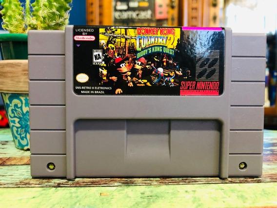 Fita Super Nintendo Nova: Donkey Kong Country 2