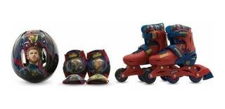 Set De Patines Entrenadores Avengers Infinity War