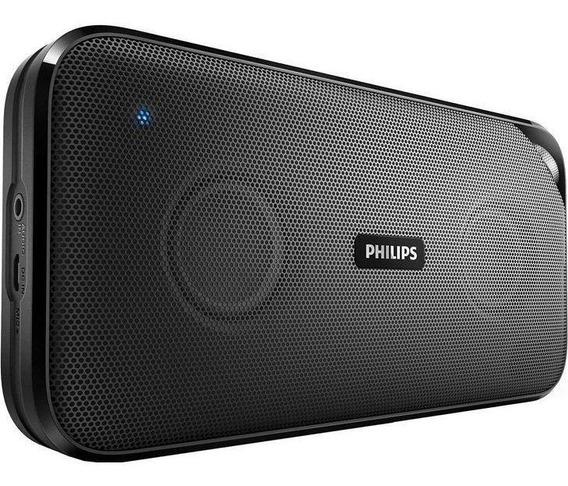 Caixa De Som Portátil Philips 10w Bluetooth Preto Bt3500b/00