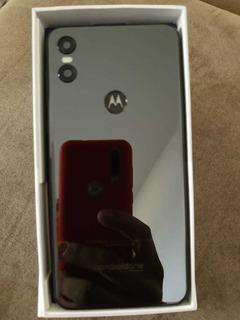 Celular Motorola One Preto 64 Gb+4 De Ram