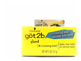 Gel Got2b Glued Spiking Wax Screaming Hold Pliable Wax Form