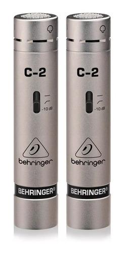 Micrófono Condensador Behringer C-2 + Garantía