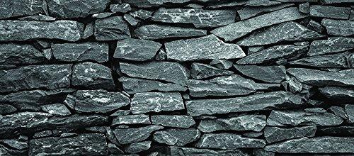 Dark Silvefr Flat Rock /hd Stone Aquarium Background 21 X