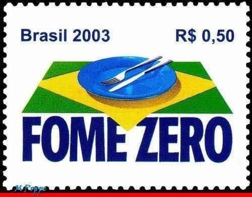 Postale Fome Zero Ref07