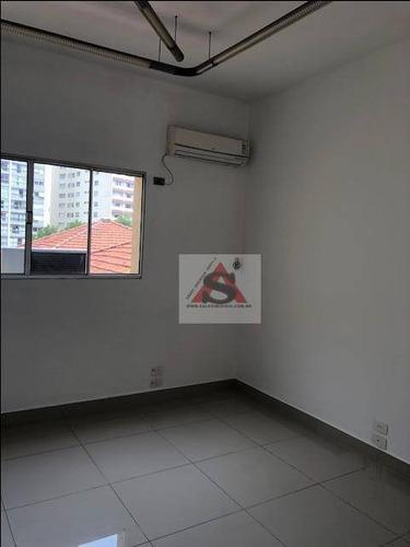 Sala Para Alugar, 38 M² Por R$ 1.700,00/mês - Vila Mariana - São Paulo/sp - Sa1177