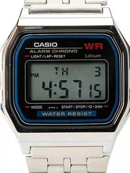 Relógio De Pulso Masculino Casio A 159 Digital Led