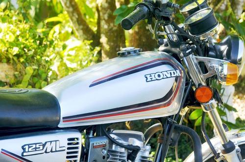 Honda Cg Bolinha 125 Ml 1982