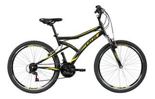 Bicicleta Bike Aro 26 Caloi Andes Suspensão Dianteira Preta