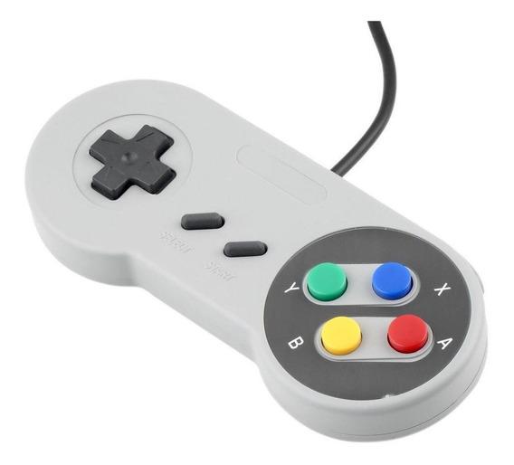 Controle Usb Joystick Para Super Nintendo - Pc - Raspberry
