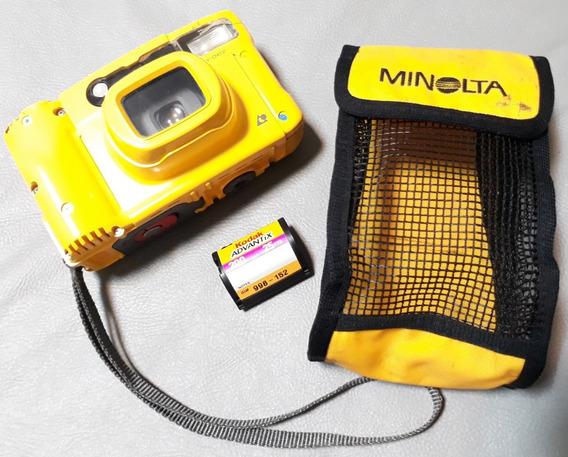 Câmera Fotográfica Minolta Vectis Weathermatic ( Sem Testes)
