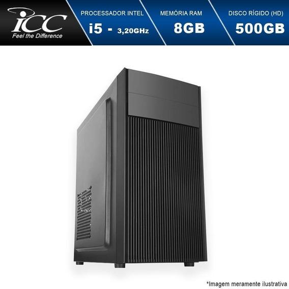 Computador Desktop Intel Core I5 3,20ghz 8gb Hd 500gb