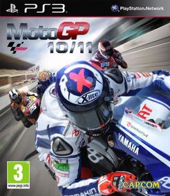 Jogo Moto Gp 10/11 Playstation 3 Ps3 Frete Grátis Capa Imprs