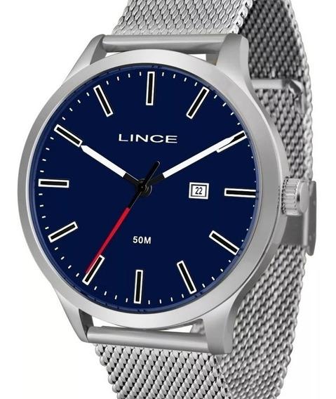 Relógio Lince Masculino Prata - Mrm4494s D1sx