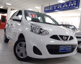 Nissan March 1.0 12v S 4p Completo Branco 2017
