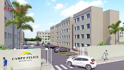 Apartamento Residencial À Venda, Ouro Verde, Campo Largo - Ap1667. - Ap1667