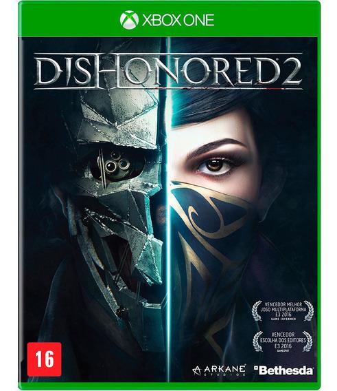 Jogo Dishonored 2 Xbox One One Mídia Física   Vitrine
