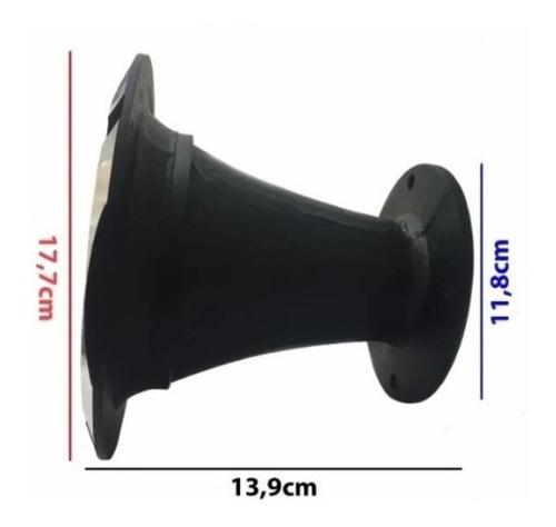 Corneta Kallaus Aluminio Polido Hl 1450 Curto Trio Expansor