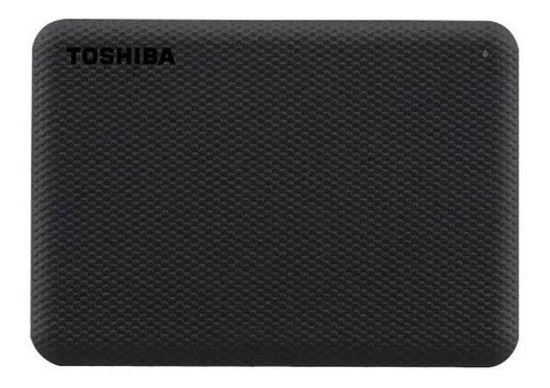 Disco rígido externo Toshiba Canvio Advance HDTCA10X 1TB preto