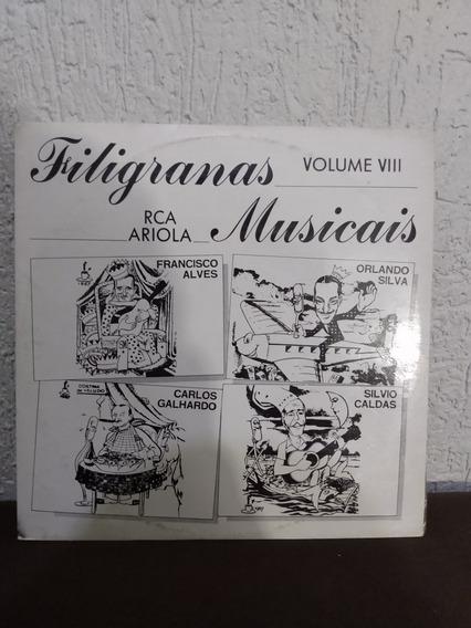 Lp Filigranas Musicais Vol. 8
