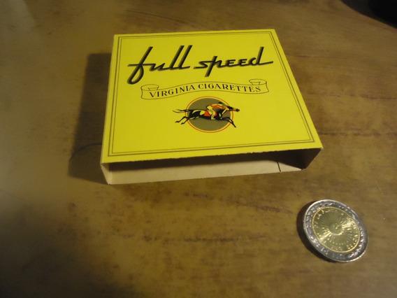 Caja Vacia De Cigarrillos Full Speed N 1