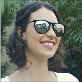 9b54aa4b6 Oculo Feminino De Sol Veludo Preto - Óculos no Mercado Livre Brasil