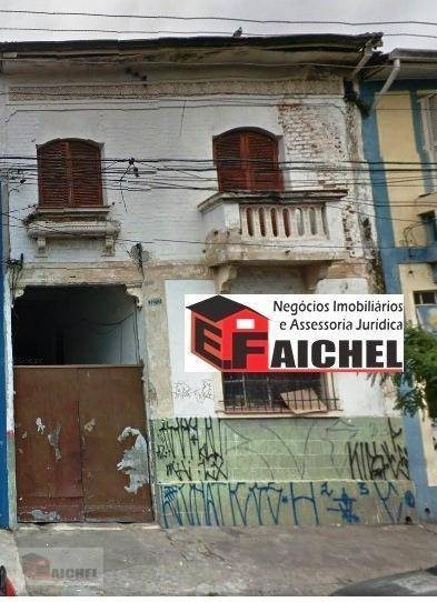 Terreno Residencial À Venda, Mooca, São Paulo. - Te0042