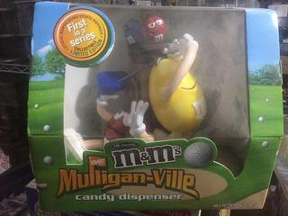 M&m Dispensador Chocolate De Golf