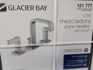 Mezcladora Glacier Bay 121 777, Níquel Cepillado