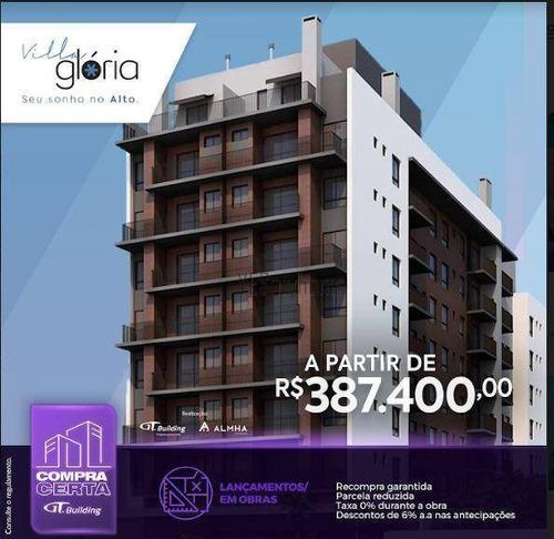 Apartamento Com 2 Dormitórios À Venda, 55 M² Por R$ 489.800,00 - Alto Da Glória - Curitiba/pr - Ap2972