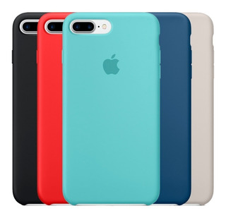 Capa Capinha C/ Logo Apple iPhone 6 6s 7 8 Plus X Xr Xs Max