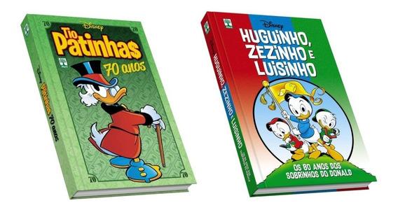 Hq 70 Anos Do Tio Patinhas Sobrinhos Disney + Frete Grátis