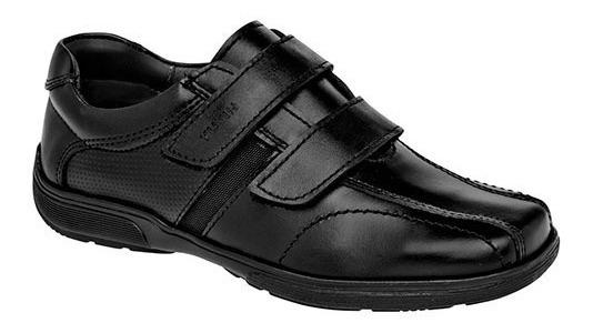 Zapatos Escolares Marca Yuyin De Piel 29010 Dog