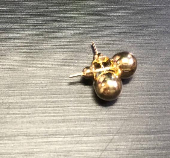 Brinco De Bolinha Ouro 5mm