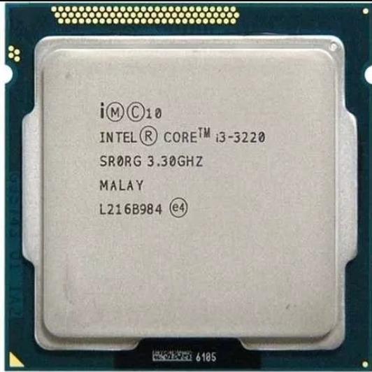 Processador I3 1155 3220 3.3ghz Lga